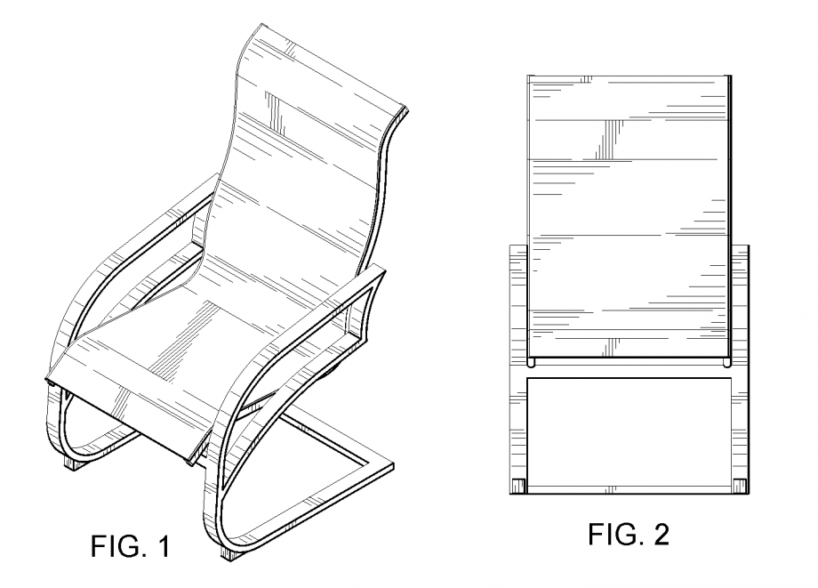 chair design drawing. Design Patents Images Chair Drawing